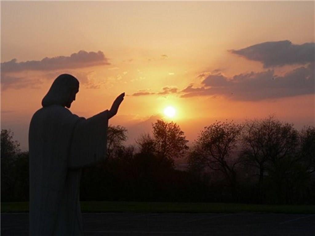 Christ bénissant nos contrées