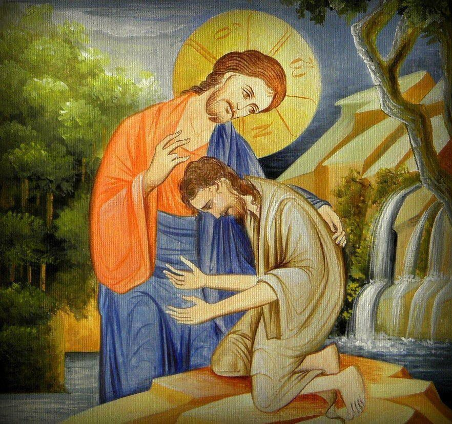 Blessed the one who always keeps the memory of God in himself, he will be wholly like an Angel from heaven upon earth, ministering to the Lord with fear and love.' (St. Ephrem of Syria)