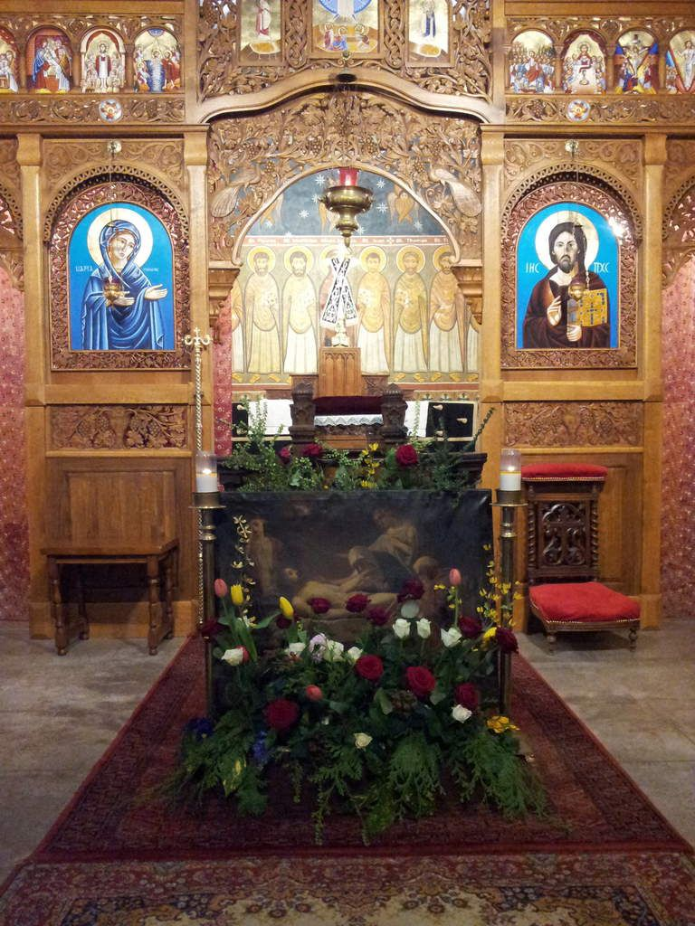 'O Lord, we cannot go to the pool of Siloe to which you sent the blind man. But we have the chalice of Your Precious Blood, filled with life and light. The purer we are, the more we receive.' (St. Ephrem of Syria)