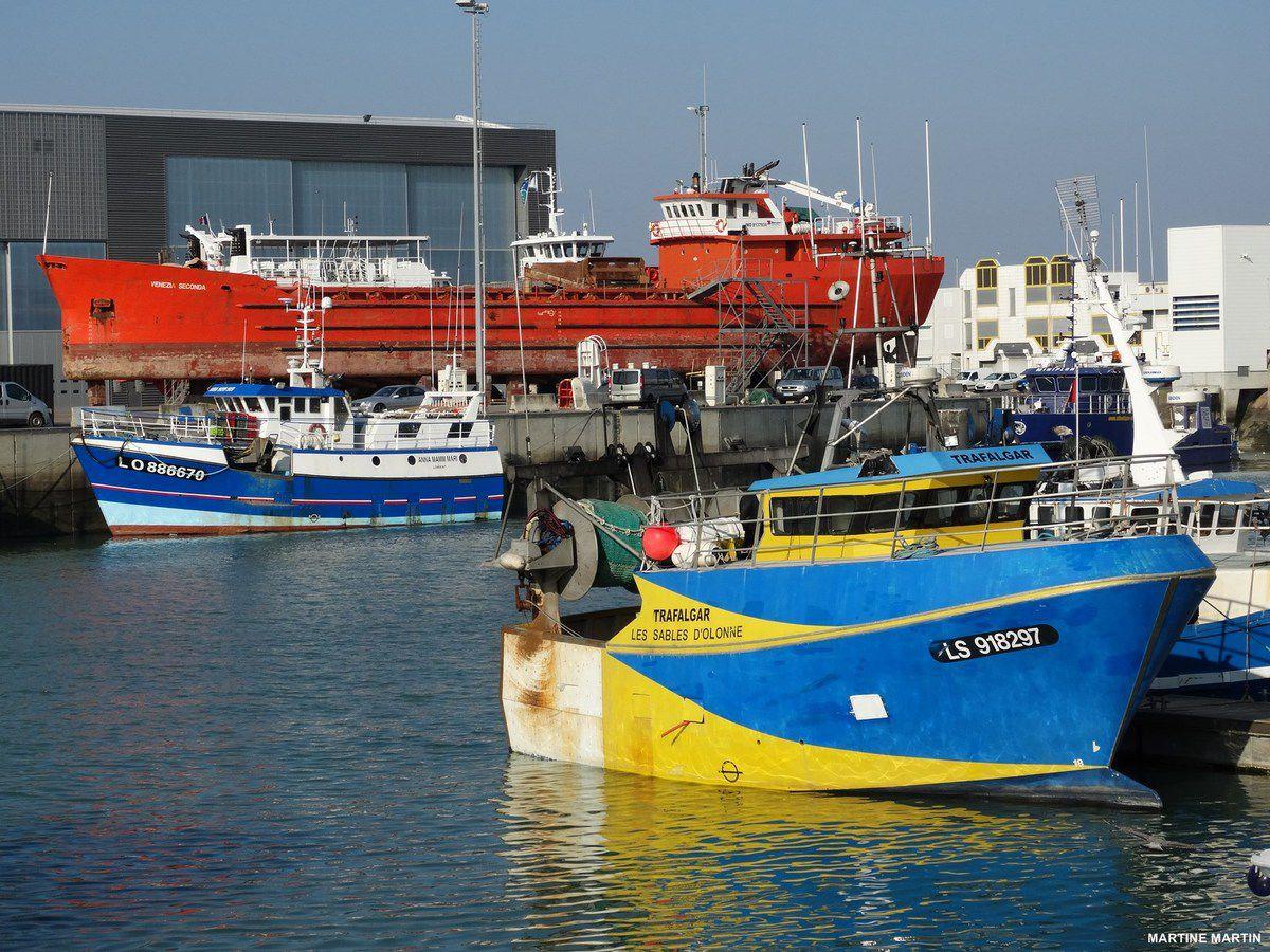 Repos dans le port des Sables #Vendée