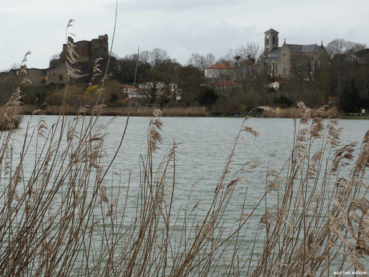 Plan d'eau de la Chapelle à Talmont Saint-Hilaire