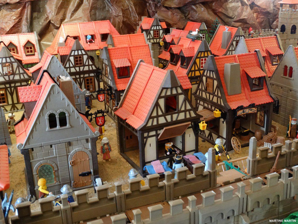 exposition playmobil beaulieu sous la roche la gazette. Black Bedroom Furniture Sets. Home Design Ideas