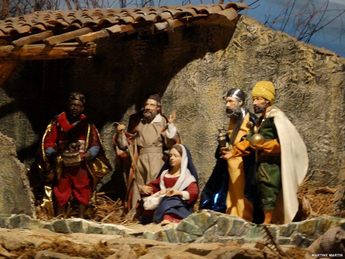 Crèches de Noël de Beaulieu sous La Roche (Vendée)