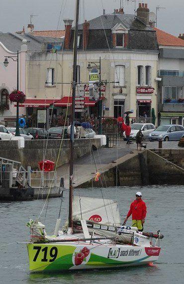 Les Sables - Les Açores - Les Sables : Nicolas Boidevezy vainqueur proto