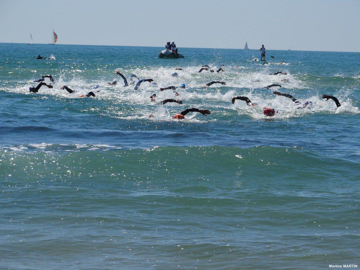 Triathlon des Sables 2014 D2 : (1) L'épreuve de natation