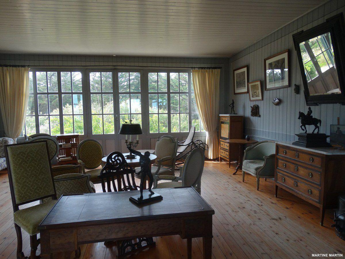 La maison de Georges Clémenceau à Saint-Vincent sur Jard / Vendée