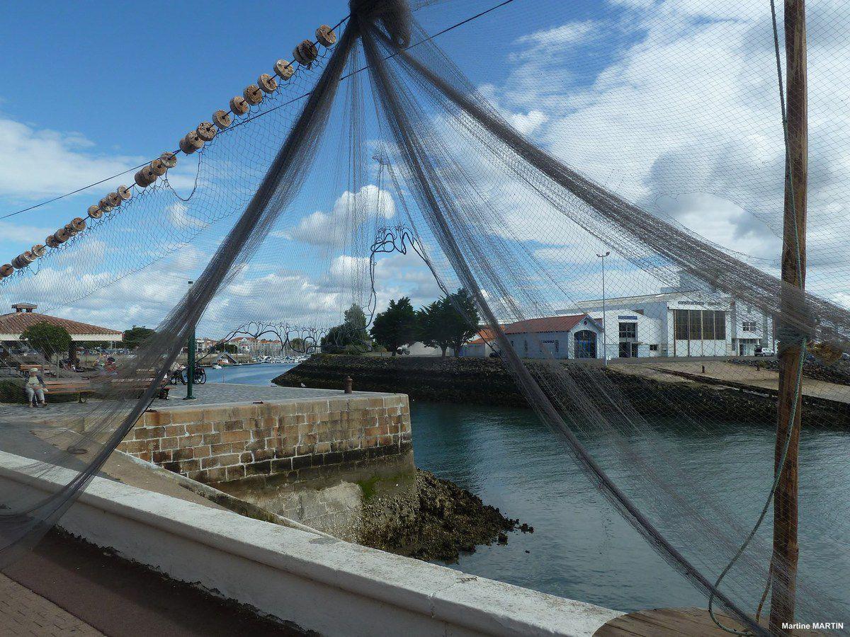 Explications Voiles sur le port des Sables d'Olonne