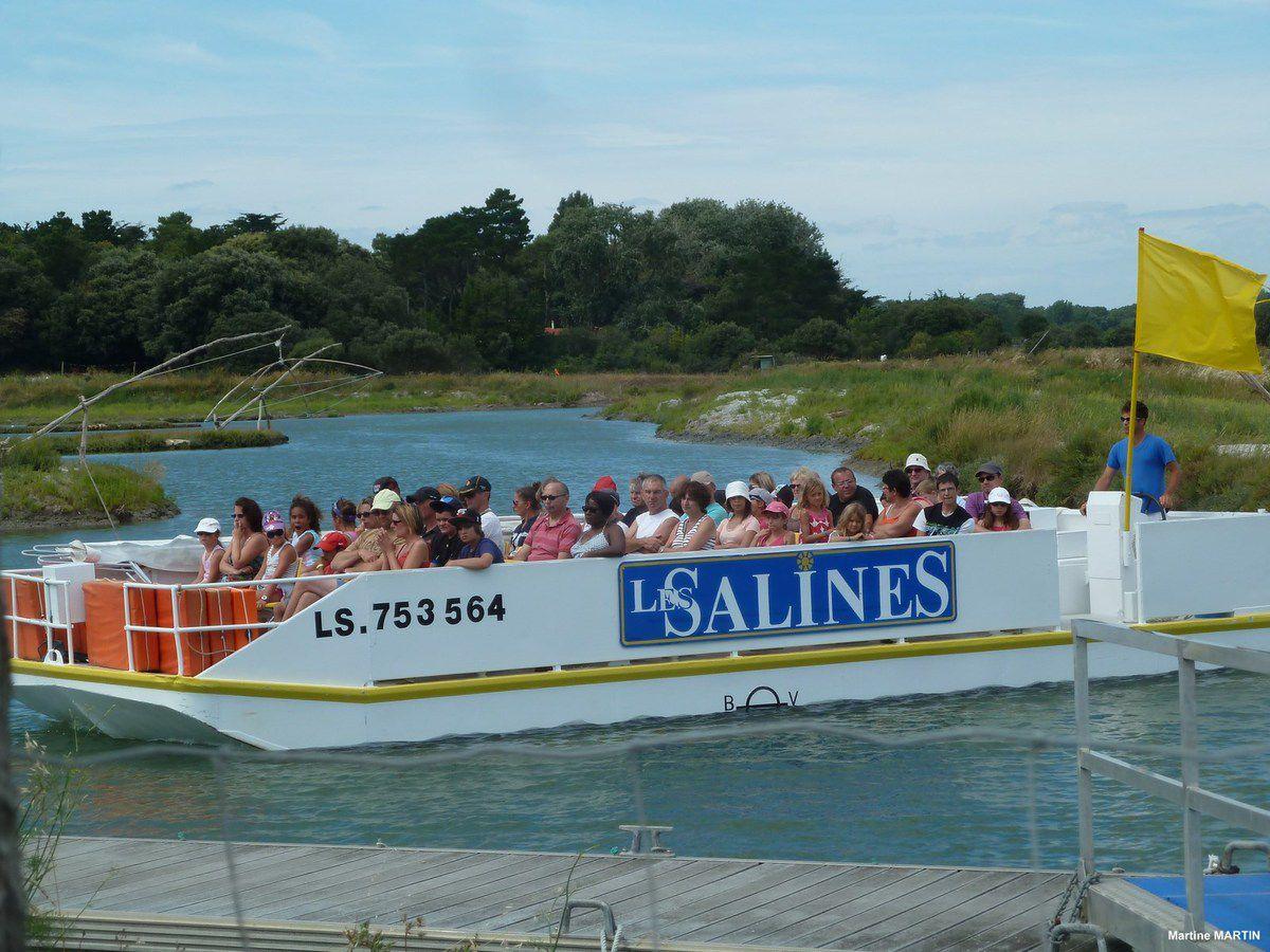 Les Salines d'Olonne sur mer : Visite bateau (1)