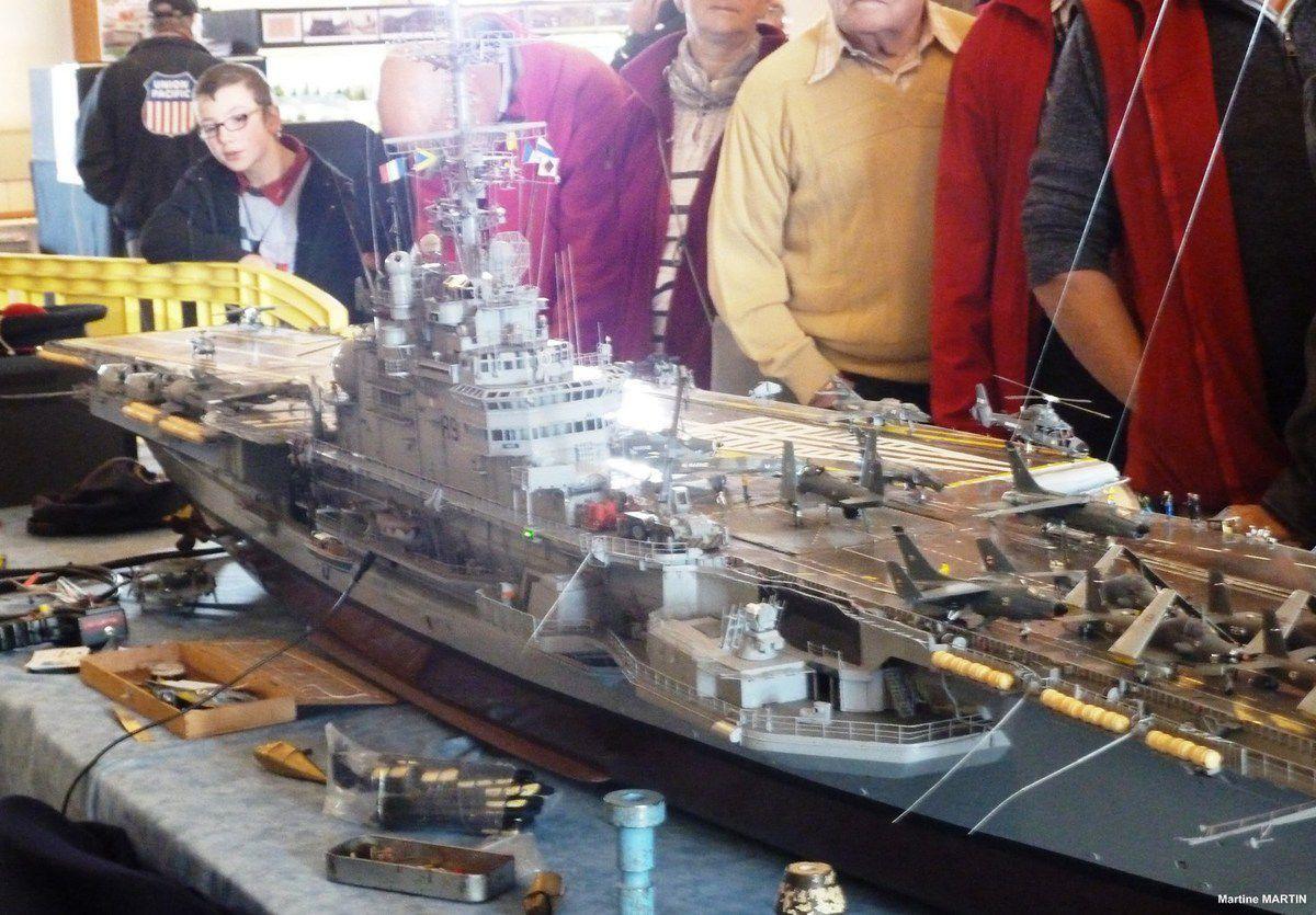 Exposition maquettes aux sables d'Olonne : les bateaux