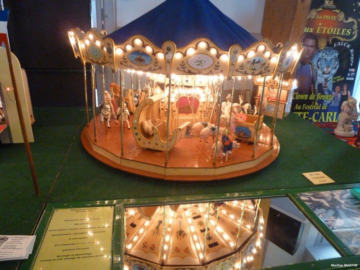 Exposition maquettes les Sables d'Olonne : la fête foraine