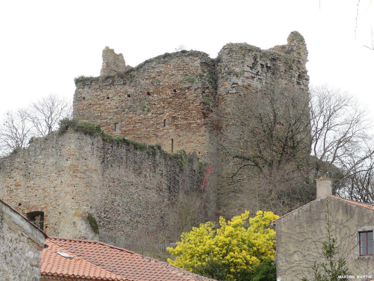 Le château de Talmont Saint-Hilaire