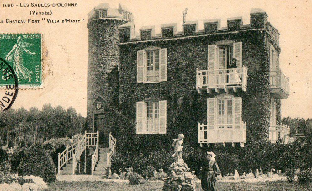 La Villa Nina d'Asty au château d'Olonne