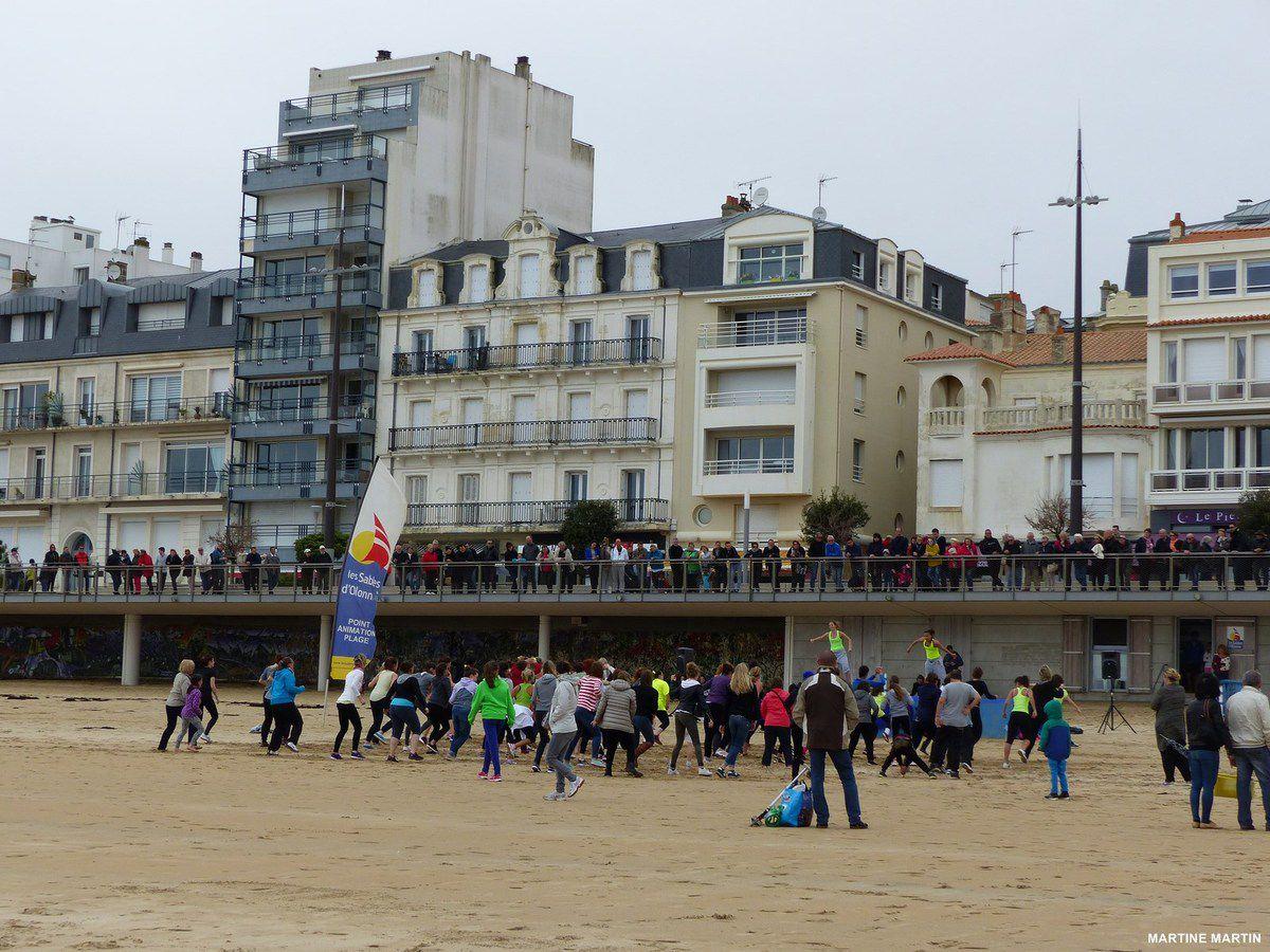 Zumba beach Les Sables d'Olonne