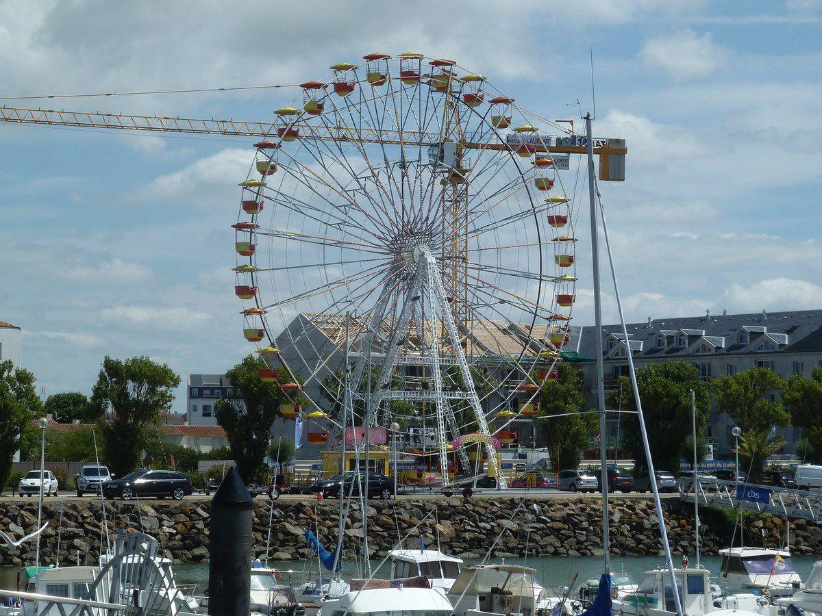 Grande roue des Sables d'Olonne à Port Olona