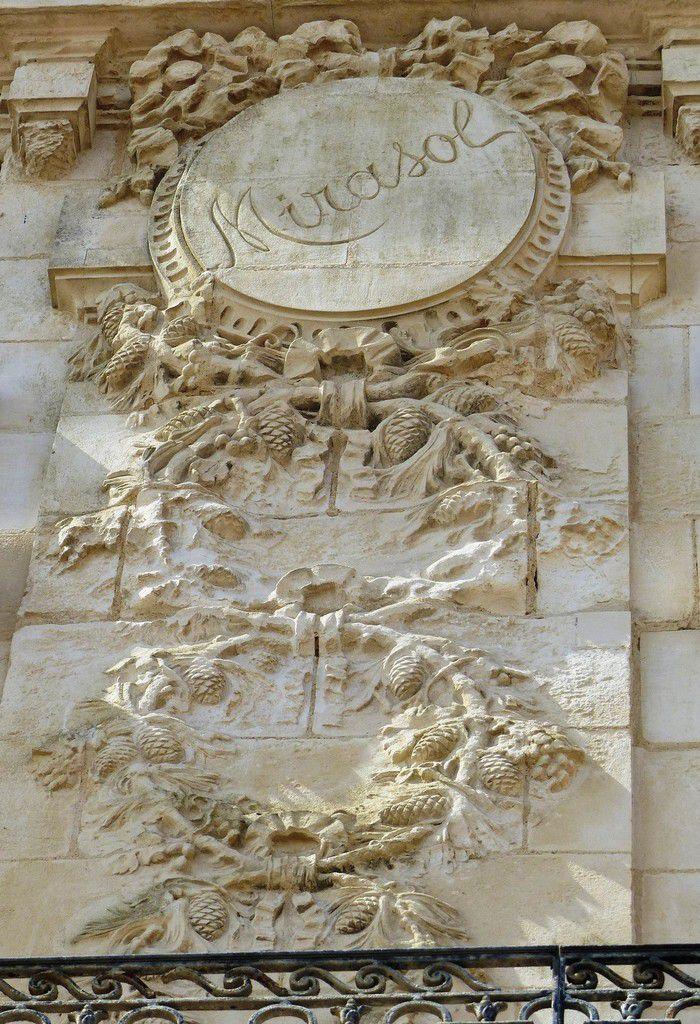 Fresque de la villa mirasol aux Sables d'olonne
