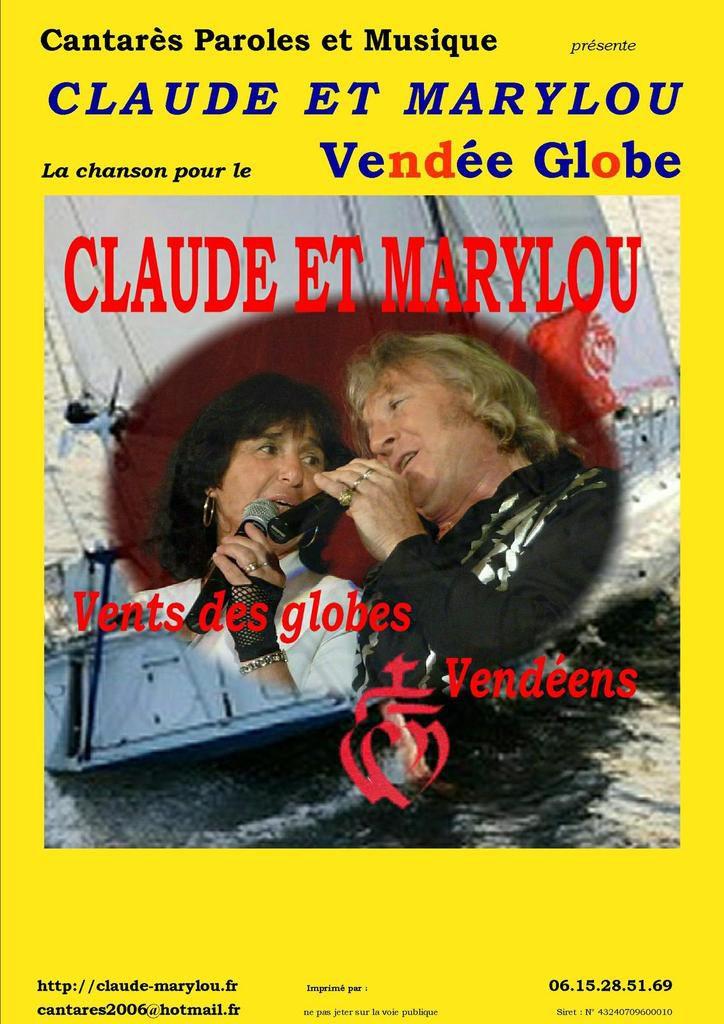 Claude et Marylou &quot&#x3B;Vent des Globes Vendéens&quot&#x3B;