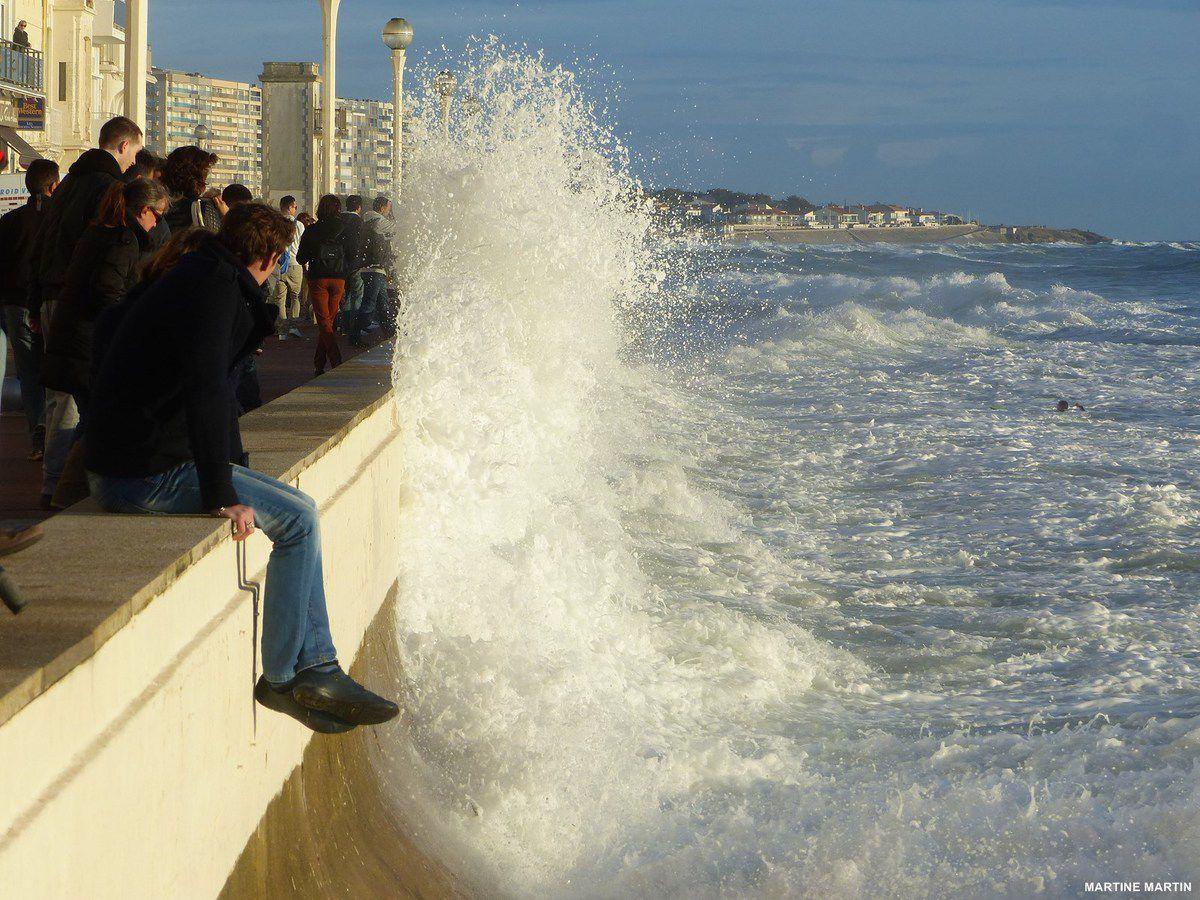 Photo Grande marée du 28 octobre aux Sables d'Olonne
