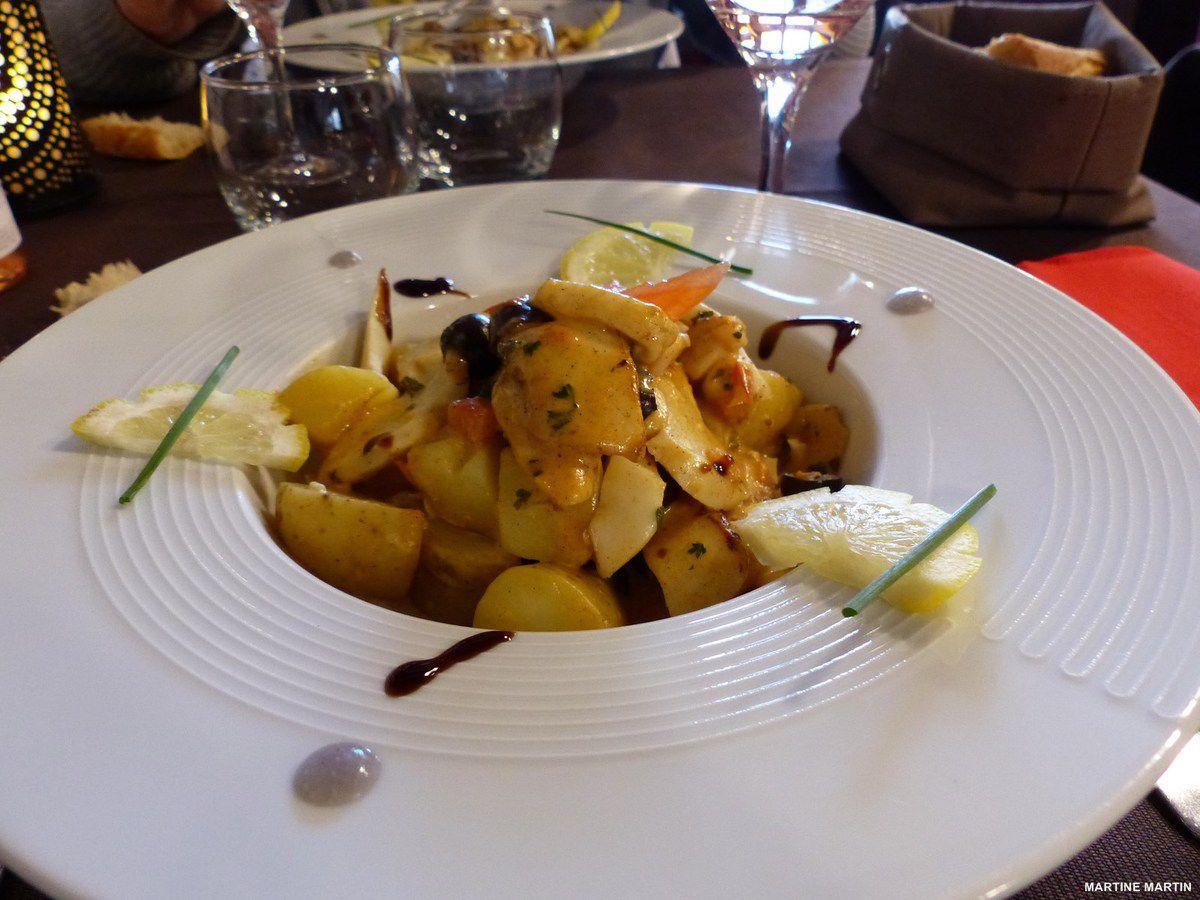 Restaurant le p'tit Noirmout à Noirmoutier en l'île