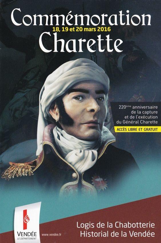 Commémoration de Charette à la Chabotterie Vendée