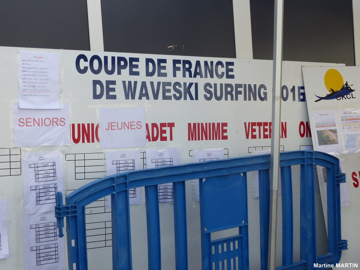 Photos coupe de France de Waveski surfing 2016 aux Sables d'Olonne