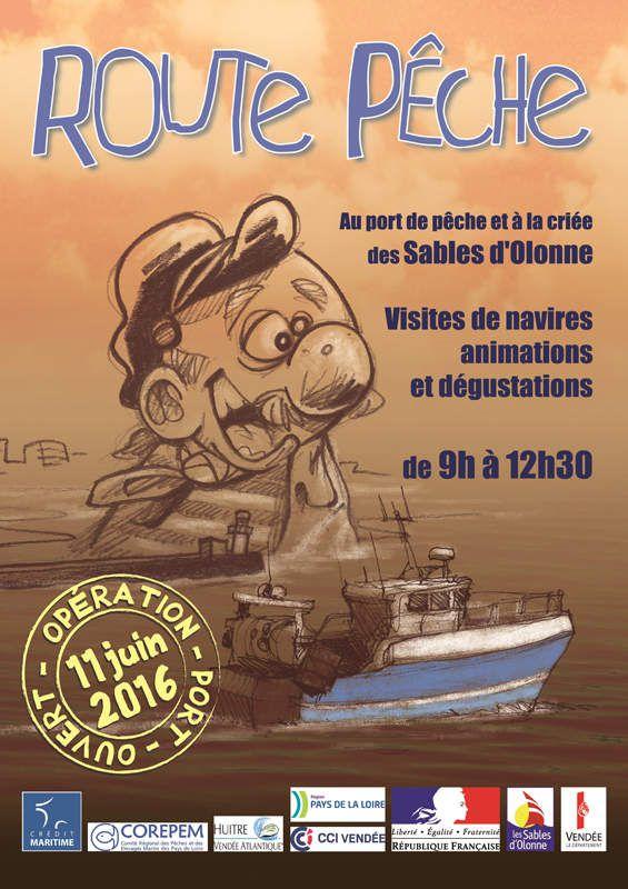Route Pêche aux Sables d'Olonne