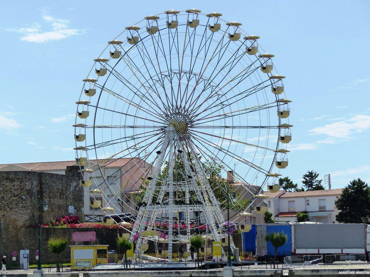 La grande roue des Sables d'Olonne à la Chaume