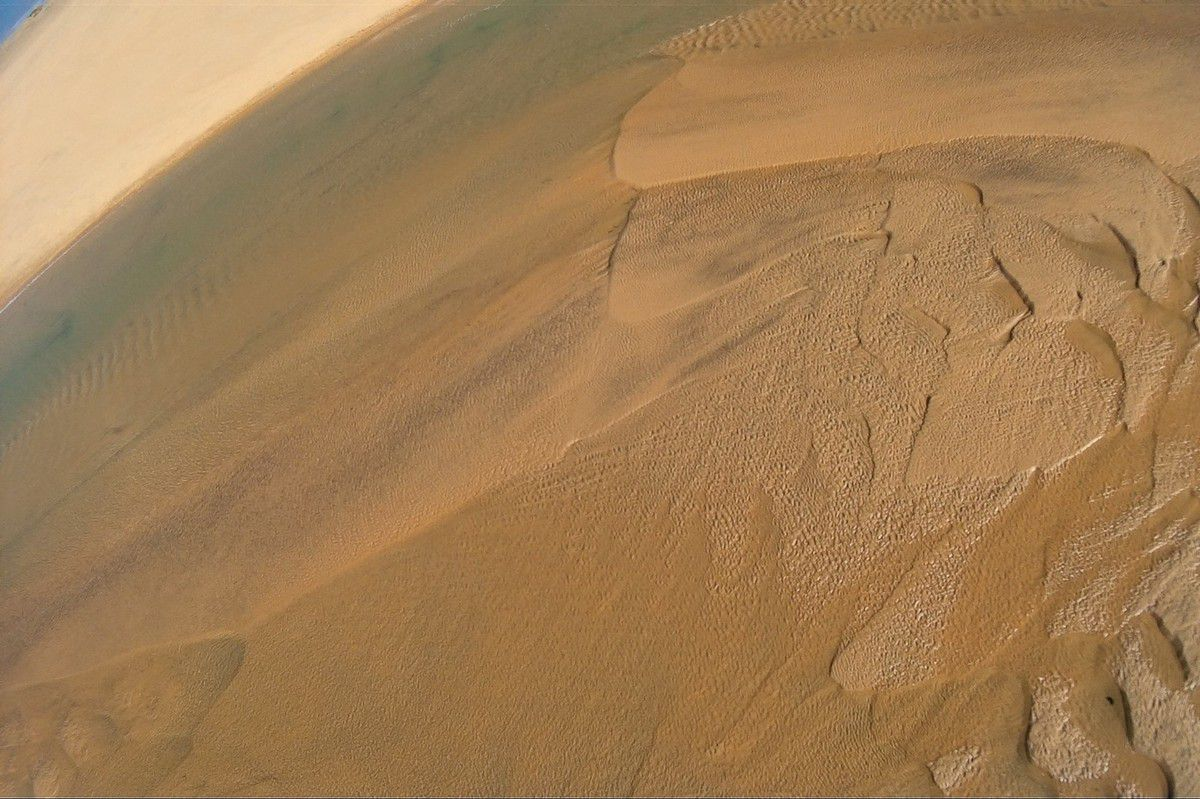 Bancs de sable du Veillon (Photos aériennes)