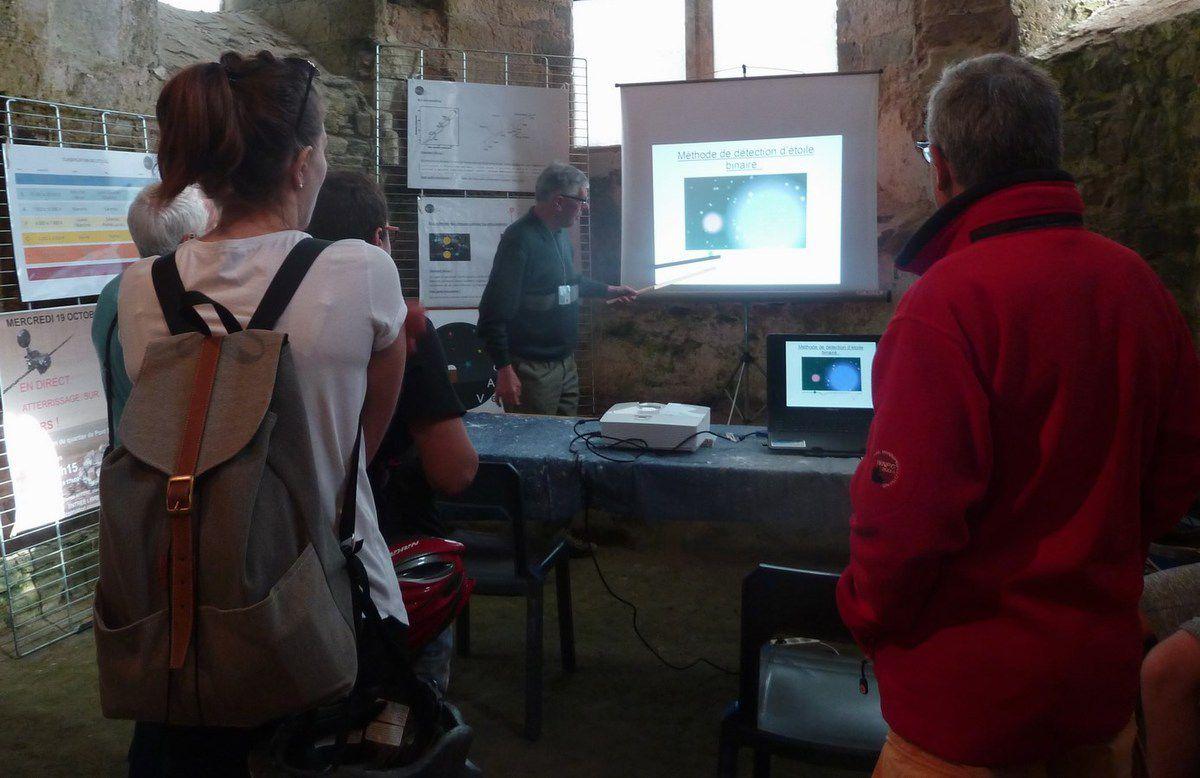 Photos fête de la science 2016 au château d'Olonne