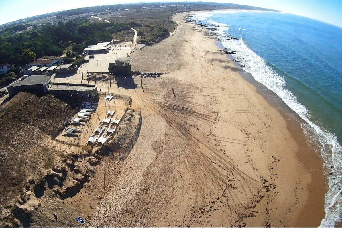 Photos aériennes de Bretignolles sur Mer