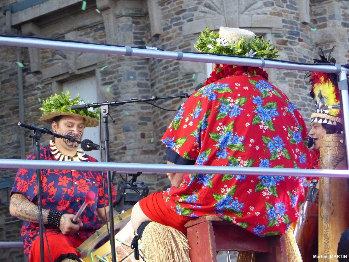 Défilé de la remise des trophées du Vendée Globe : Le Char Cap Leuwin