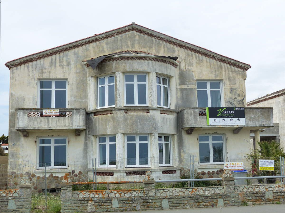 Rénovation des villas de la corniche du Nouch / La Chaume Les Sables d'Olonne