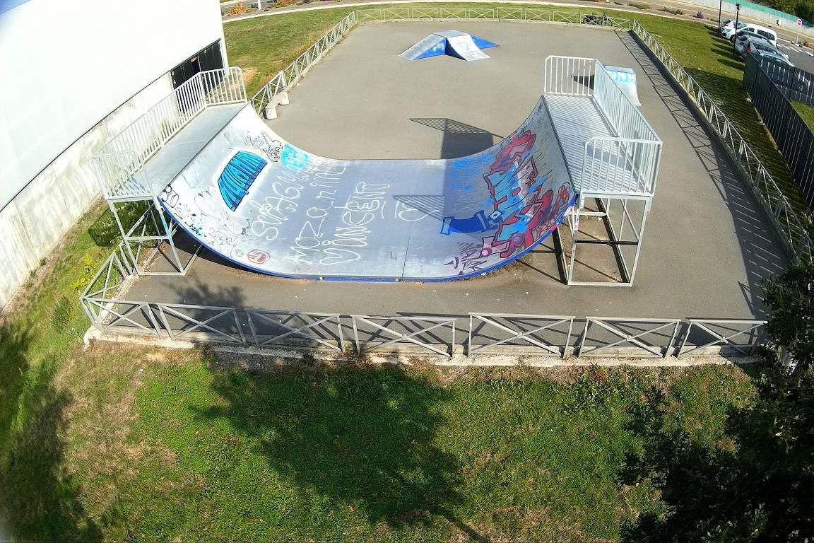les skate park du ch teau d 39 olonne la gazette des olonnes. Black Bedroom Furniture Sets. Home Design Ideas