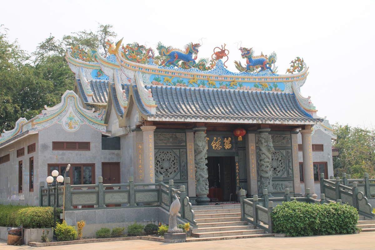 Dans la chaleur de Vientiane