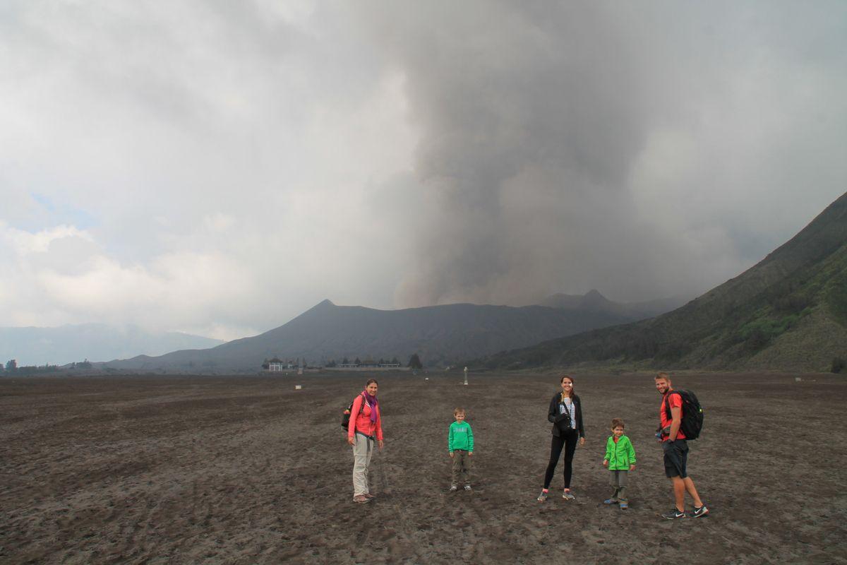 Les volcans de Java