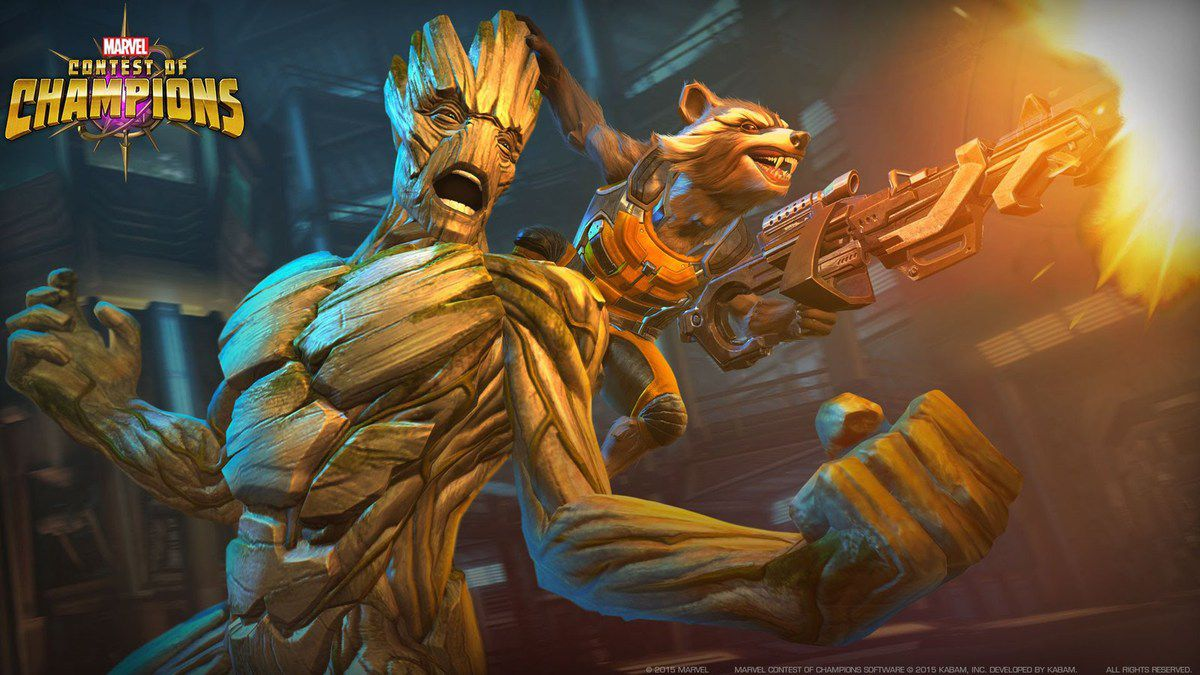 Groot Marvel contest of champions High score