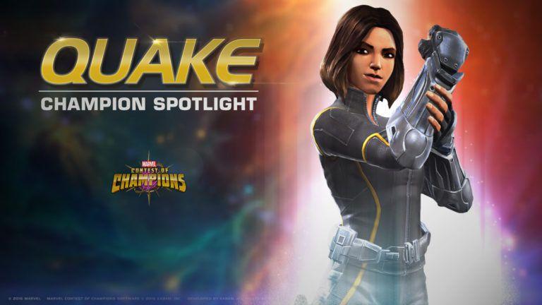 Quake Marvel contest of champions High score