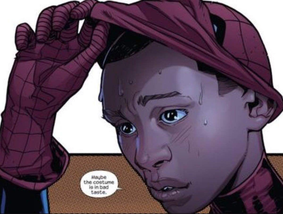 Spiderman miles morales en arène sur marvel contest of champions.