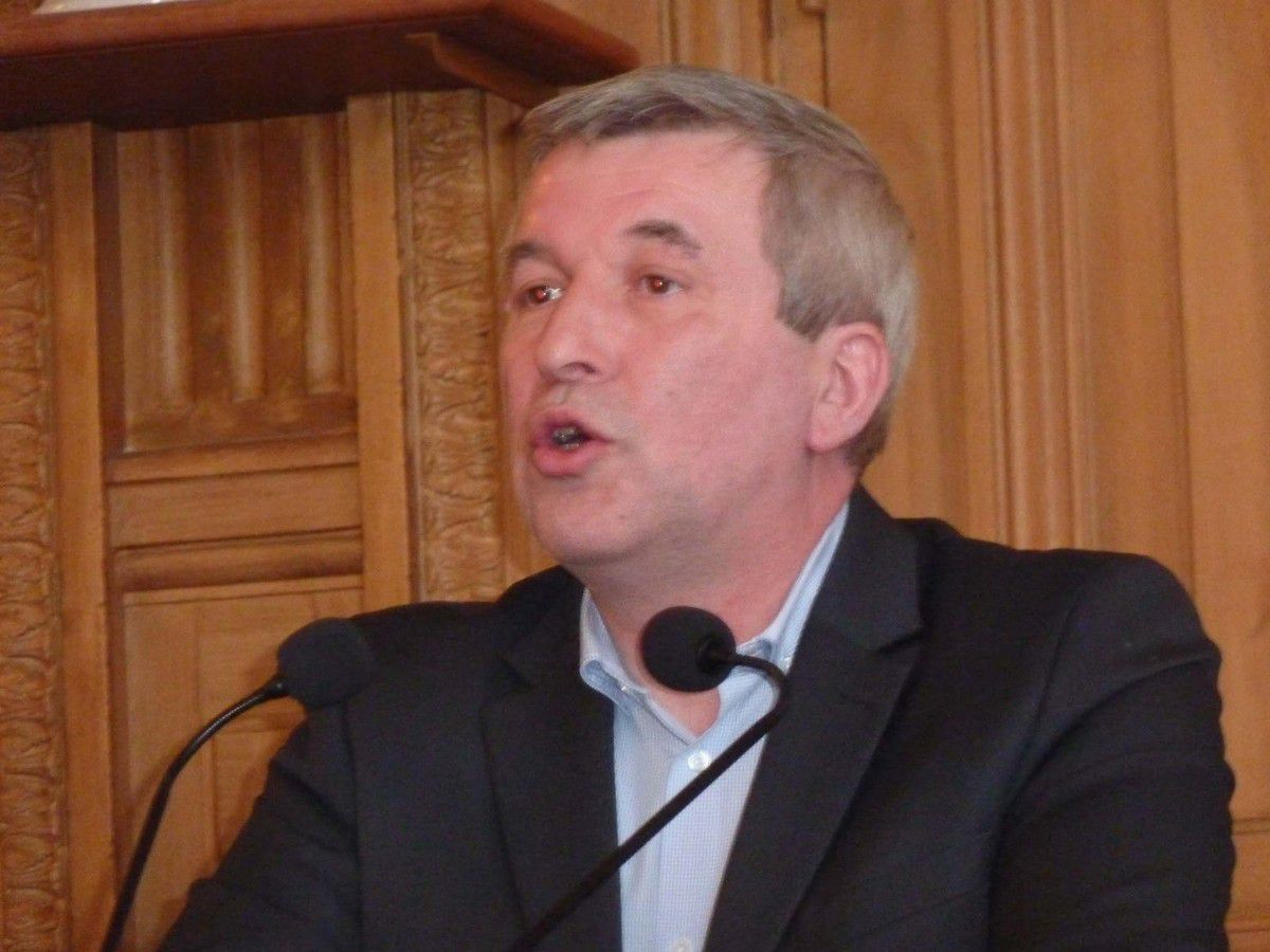 Jean-Luc Laurent, le 12 avril 2015