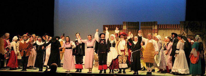 Echange avec Opéra Ephémère : les mousquetaires au couvent