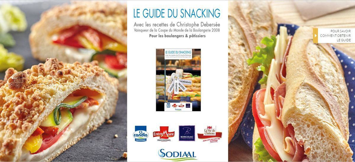 Le Guide du Snacking, par Sodiaal Food Experts
