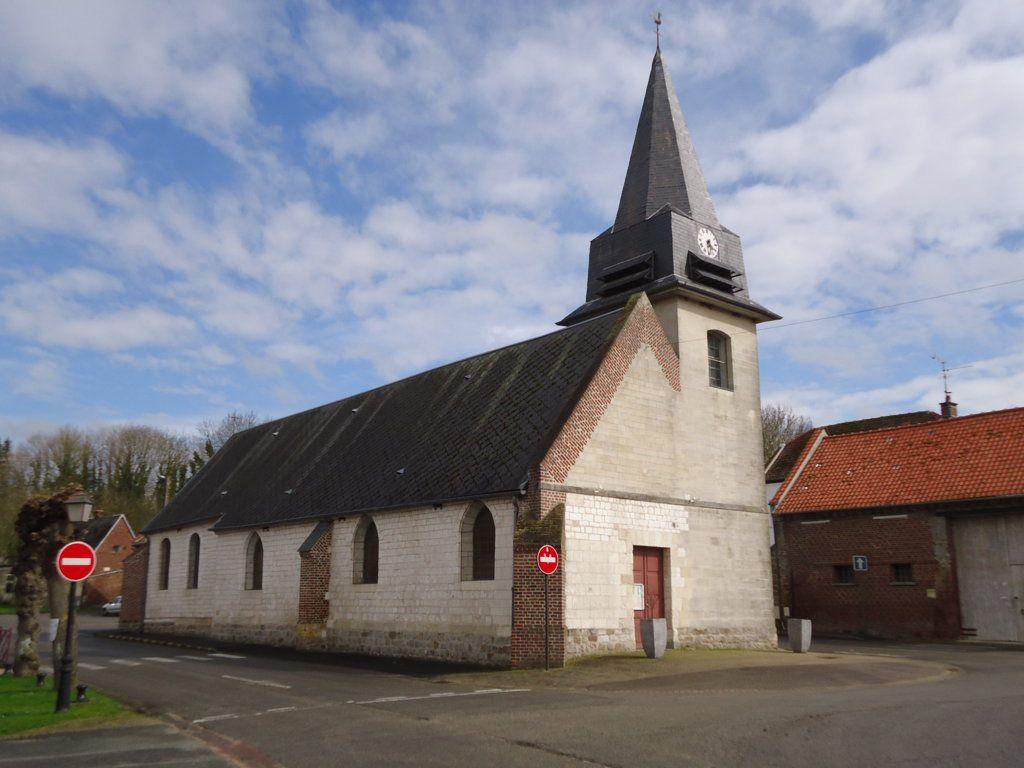 Eglise de Blangy (regardez le ciel)