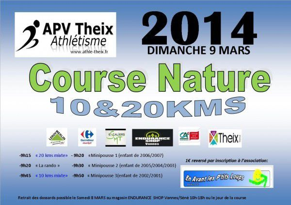 Course nature theix 2015 10 km et 20km