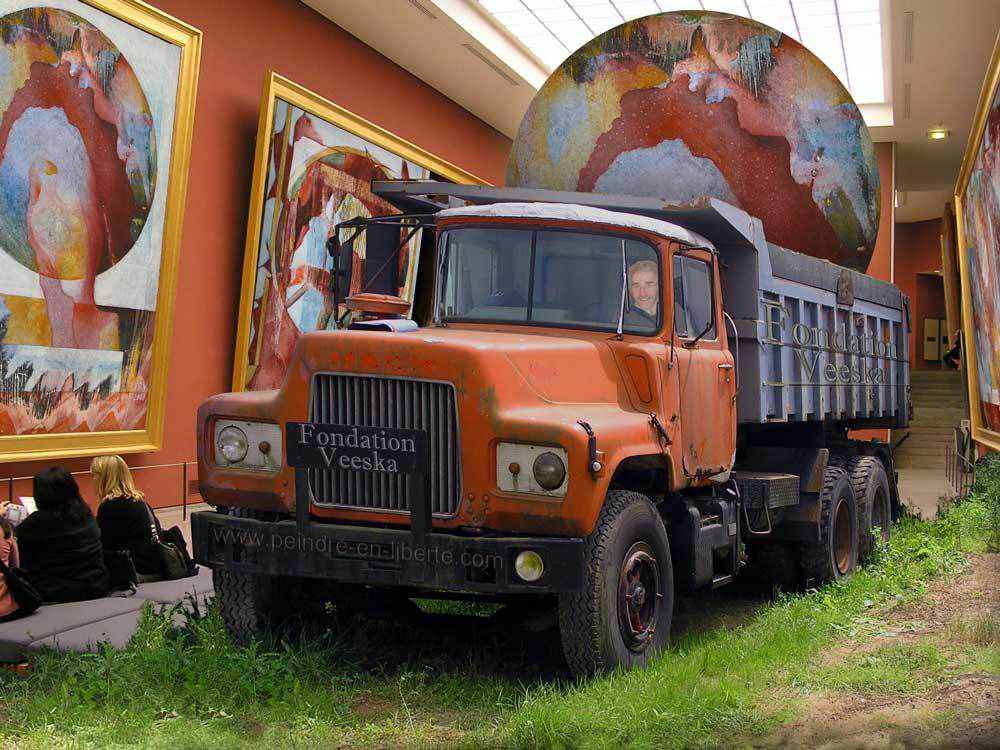Fondation Veeska : le truck pour être artiste.
