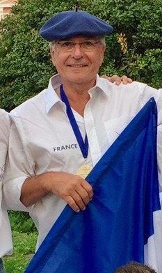 Robert ESCAFFRE Manager de l'équipe de France.