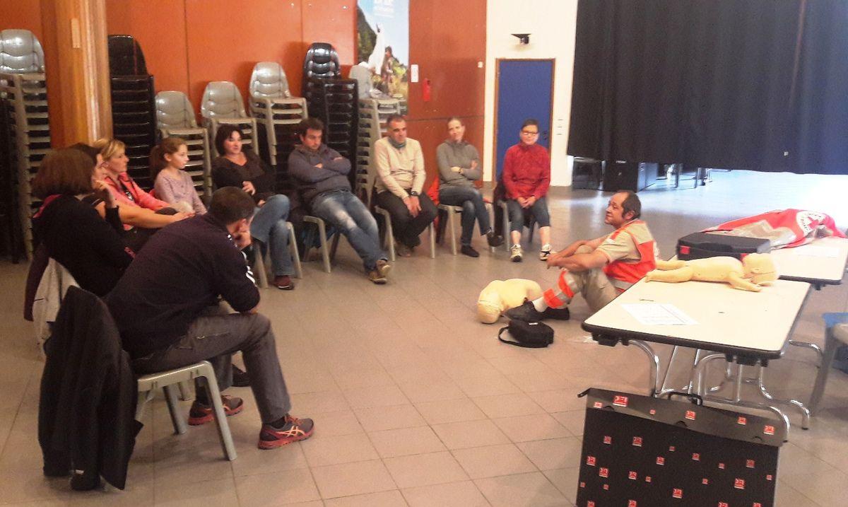 Bessans : formation aux premiers secours