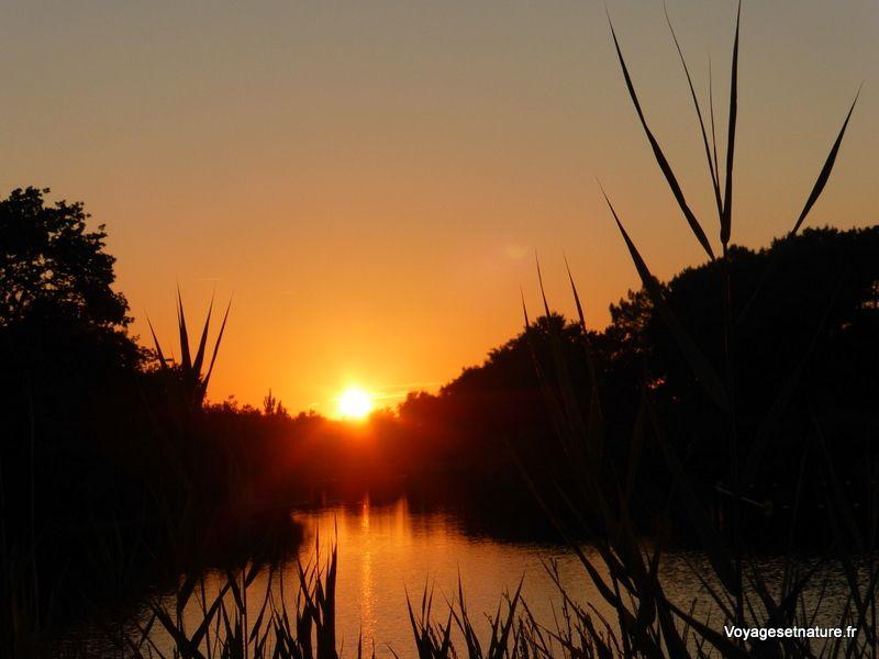 21h50 sur la lagune d'Arès