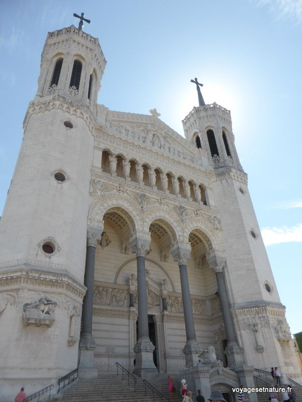 A la découverte de la ville de Lyon...