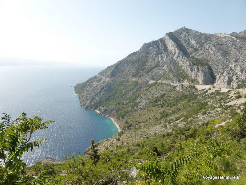 Vers le littoral de la Dalmatie