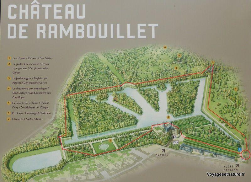 Le parc du château de Rambouillet (78)