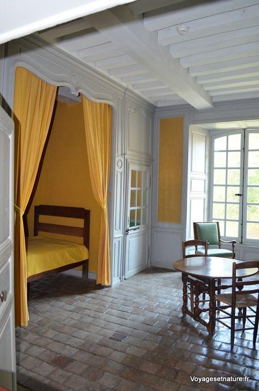 Chambre de moine remaniée en 1712 (6 moines à cette époque)